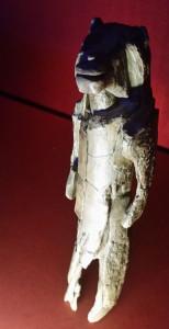 Löwenmenschplastik im Museum Monrepos. Foto: Dorothea Mueth