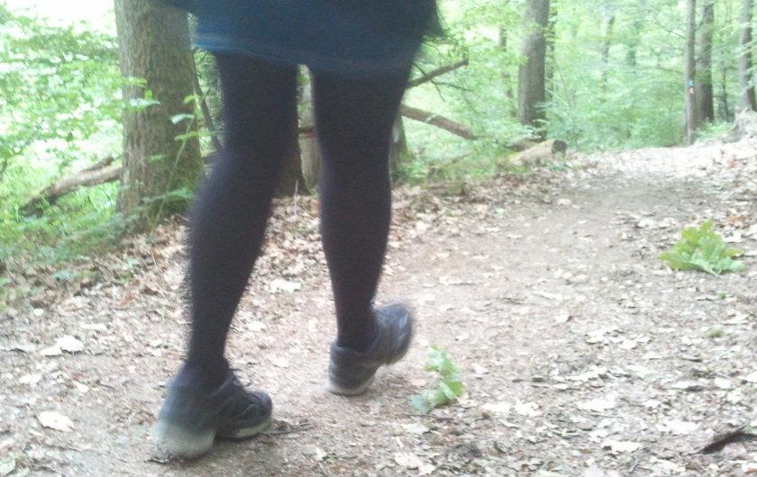Fuß vor Fuß
