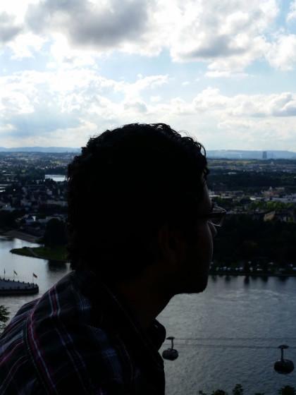 Blick auf Koblenz: Gelegen unterhalb der Vulkaneifel, an Mosel und Rhein (die jährlich Hochwasser führen) und in der Nähe des stillgelegten AKW. Wie resilient ist diese Stadt?